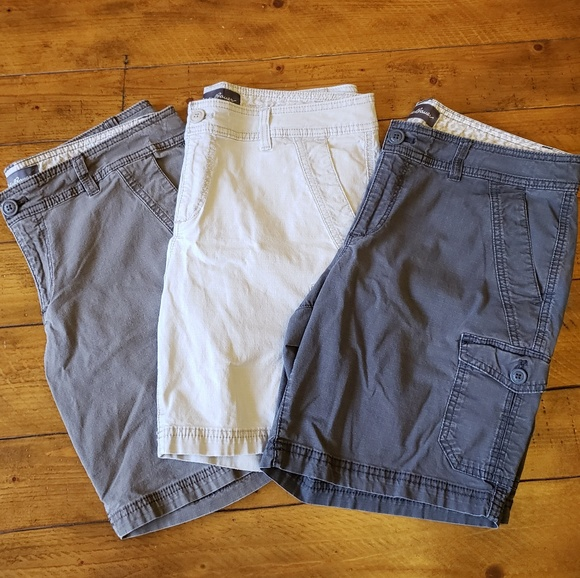 920bc100f8 Eddie Bauer Pants - Eddie Bauer Adventurer ripstop cargo shorts bundle